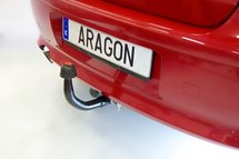 Trekhaak verticaal afneembaar Fiat 500X SUV 2015-
