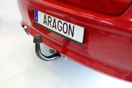 Trekhaak verticaal afneembaar Saab 9 5 sedan 2011-